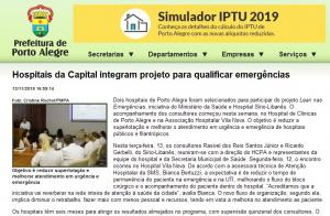 Hospitais da Capital integram projeto para qualificar emergências