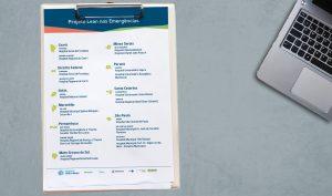 MS divulga lista dos 20 hospitais que irão compor o 3º Ciclo do Projeto Lean nas Emergências